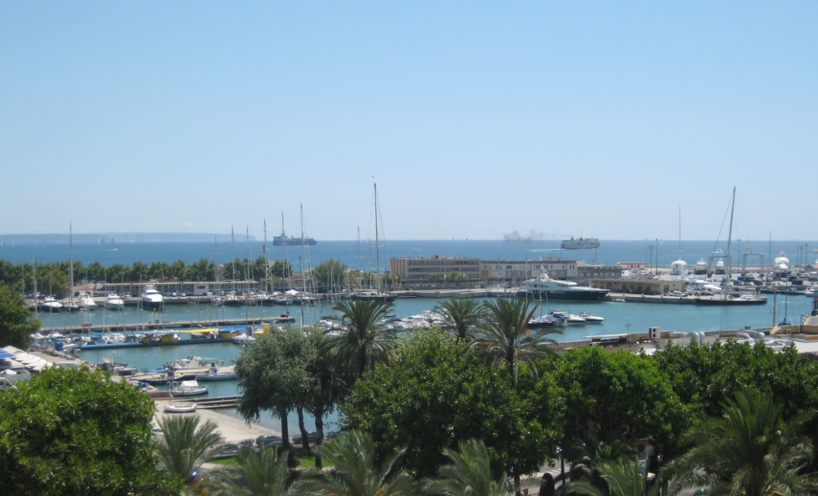 Ausblick auf Mallorca