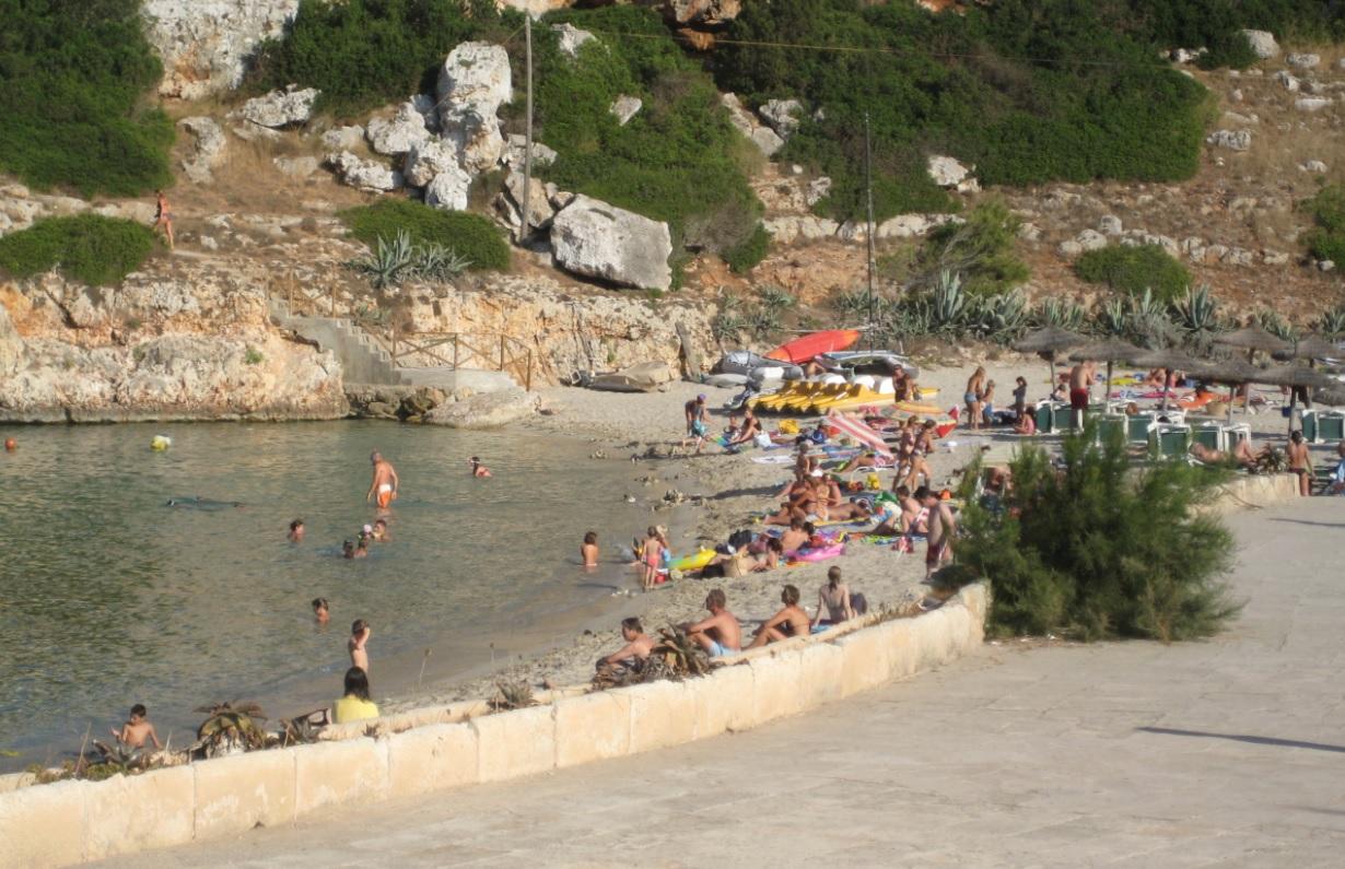 Badebucht auf Mallorca