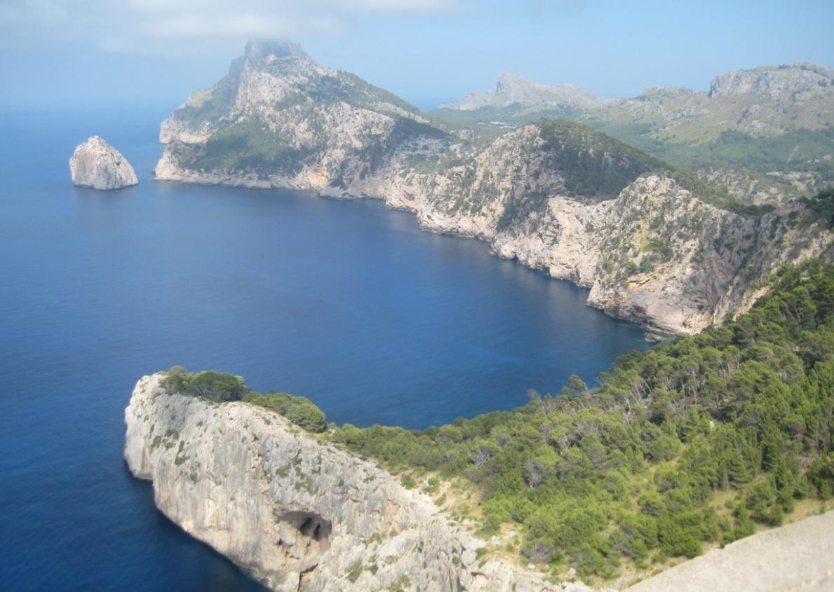 Einsame Buchten auf Mallorca