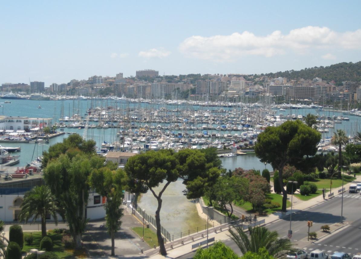 Hafen auf Mallorca