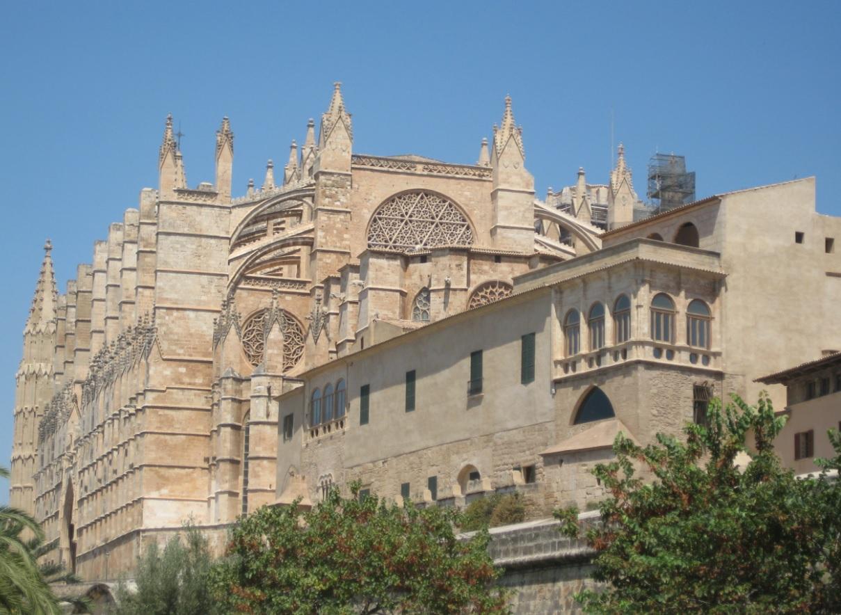 Kathedrale in Palma auf Mallorca