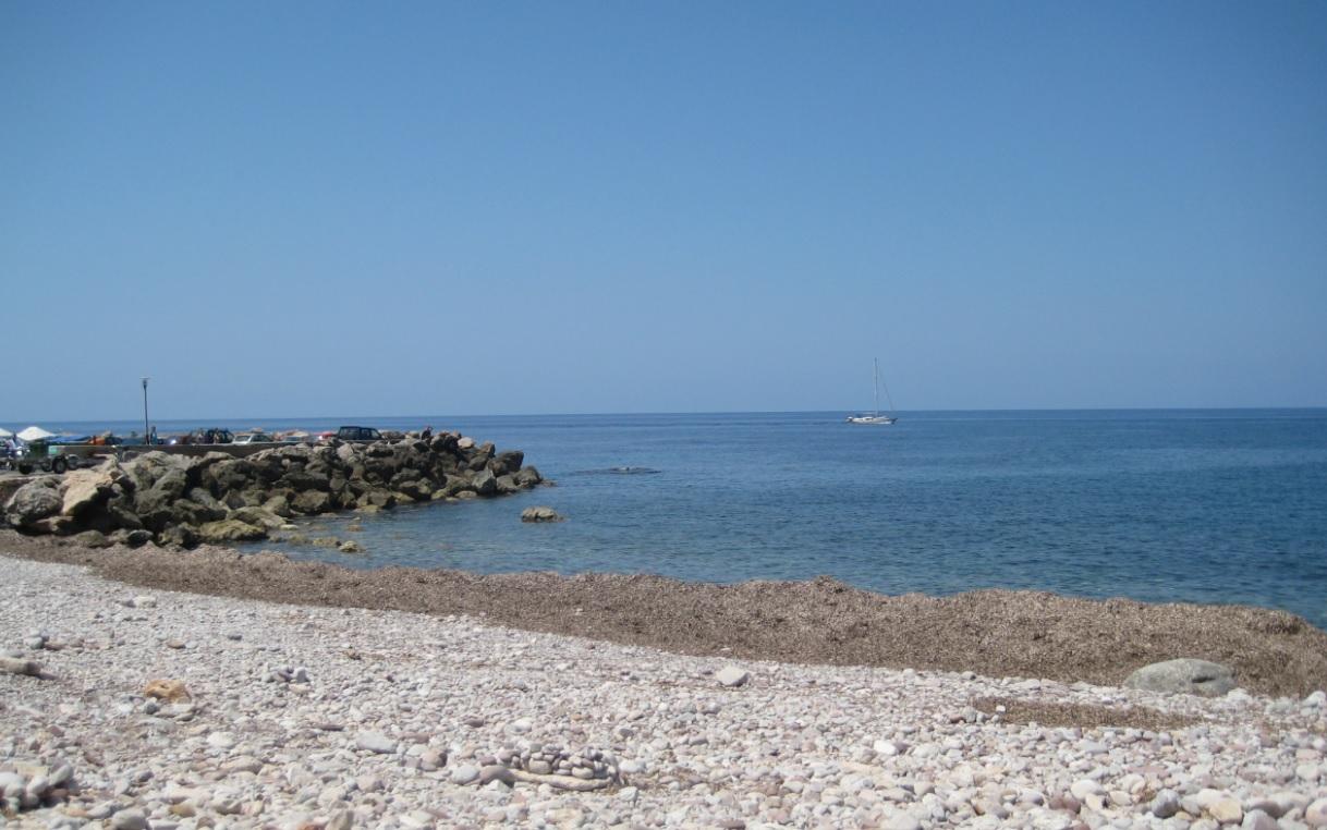 Kieselstrand auf Mallorca