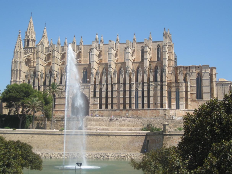 Wahrzeichen Kathedrale in Palma