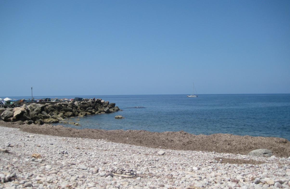 Strand von Mallorca mit Sonne
