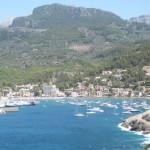 Badebucht auf Mallorca im August