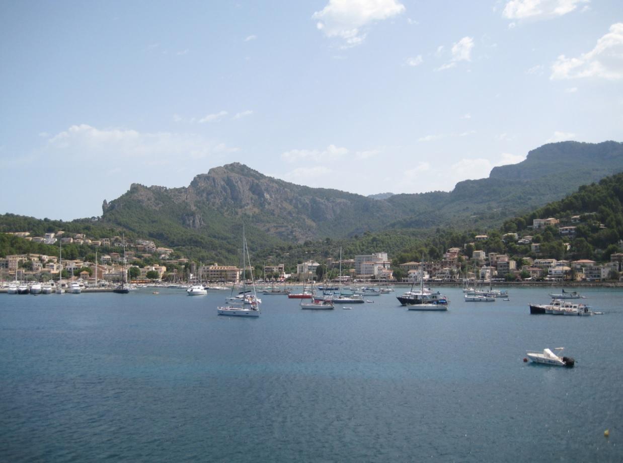 Badebucht im Juli auf Mallorca
