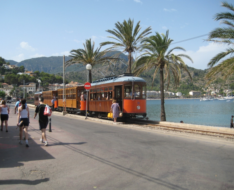 Mallorca im Juli bei Sonne