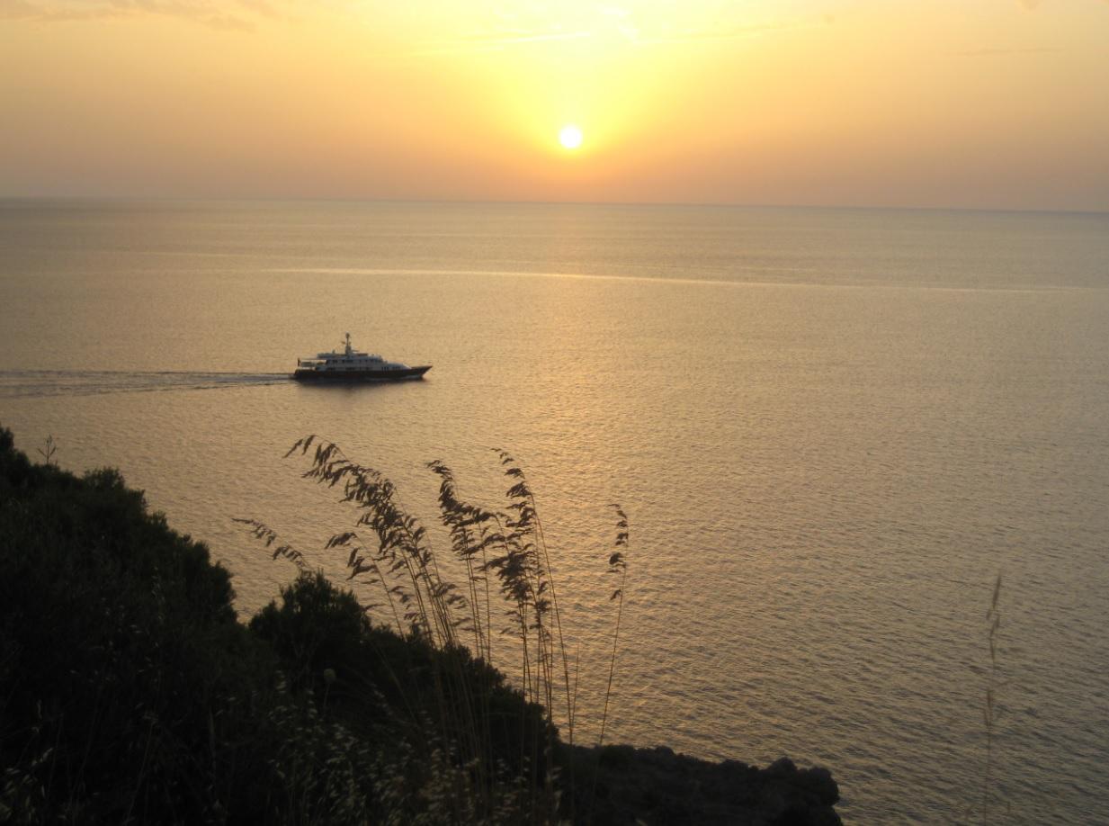 Sommer Sonnenuntergang auf Mallorca